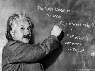 Einstein-compound-interest-rule-of-72